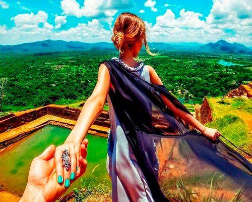 Картина по номерам 40x50 Следуй за мной в весенний лес